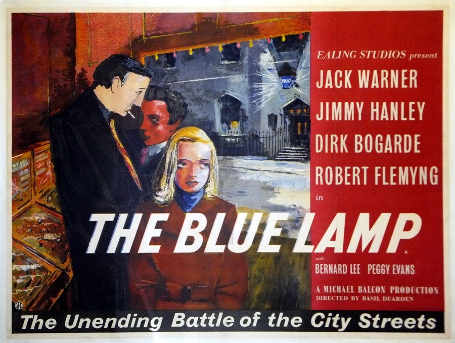 Fiskens | The Blue Lamp Poster, 1950