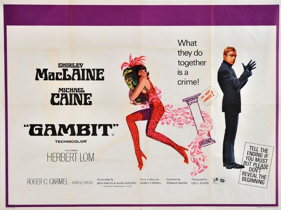 Fiskens | Gambit Poster, 1966