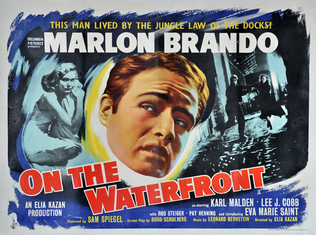 Image result for on the waterfront poster